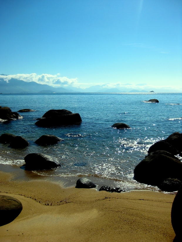 The stunning beaches of Ilha Grande...